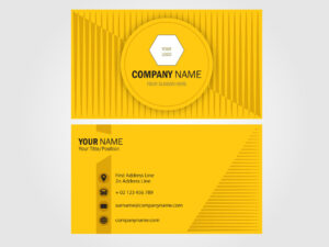Free Download Vector Modern Creative Business Card Template-EPS-JPG