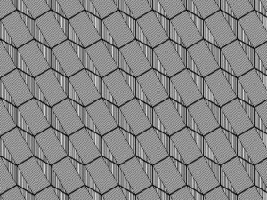 Tutorial: How to create a hexagonal geometric patter in adobe illustrator