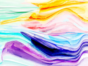How to Create Colorful Watercolor Painting Background in Adobe Illustrator