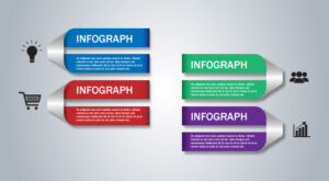 How to Create Ribbon Infographic Template Design in Adobe Illustrator