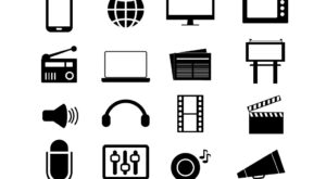 Best Media and Advertising Icon Set |Free Download| EPS | SVG | PNG | JPG