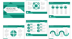 Free Beautiful Business Vector Presentation Template Design