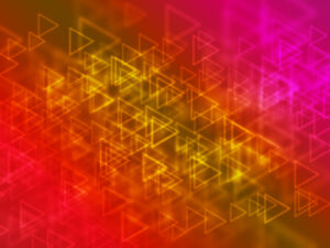 Glowing Triangular Shapes Bokeh Background | Free Download | EPS | JPG