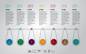 Colorful Vector Modern Timeline Infographic Template | EPS | Free Download