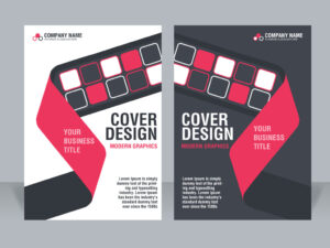 Free Vector Cover Design Template | EPS | A4 Size