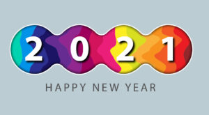 How to Create Abstract New Year 2021 Greeting Card Design in Adobe Illustrator