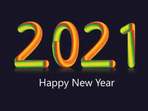 Vector 2021 New Year Greeting Card | EPS | JPG | Free Download