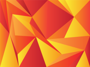 Free Abstract Low Poly Background in Yellow and Red | Free Download | EPS | PNG| JPG | SVG