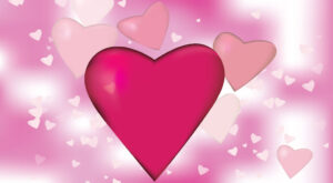 Free Vector Pink Valentines Days Hearts Background | Free Download | EPS | PSD| JPG