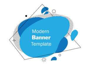 Free Modern Banner | Free Vector Abstract Banner Design | EPS | JPG | PSD