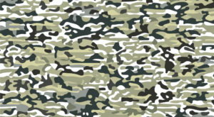 Vector Camouflage Texture | Seamless Camouflage Pattern | EPS | JPG
