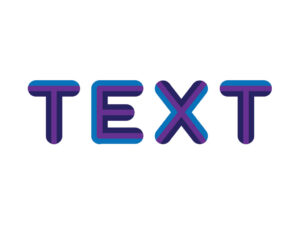 How to Create Retro Text Effect with Striped in Adobe Illustrator