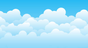 How to Create Vector Clouds Background Design in Adobe Illustrator | EPS | JPG