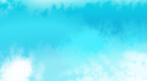 Abstract Blue Colored Clouds Background Watercolor| JPG | PSD