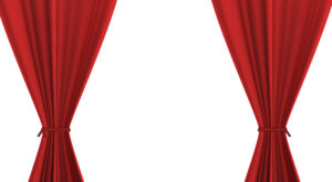 Vector Theater Drapes and Stage Curtains | EPS | JPG