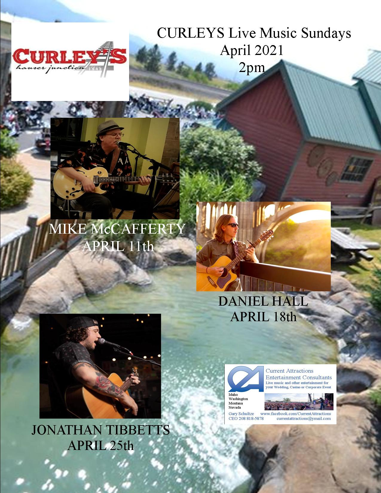 Curley's January Bands