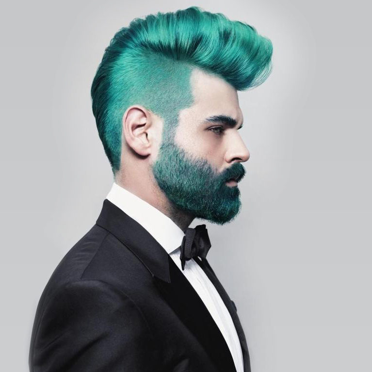 Male Hair Coloring