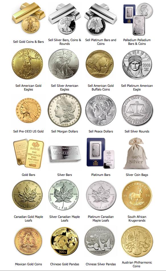 sell coins bullion