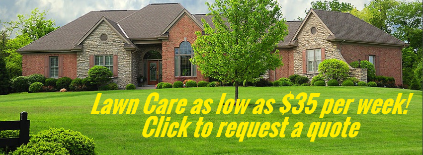lawn care as low as $35 a week