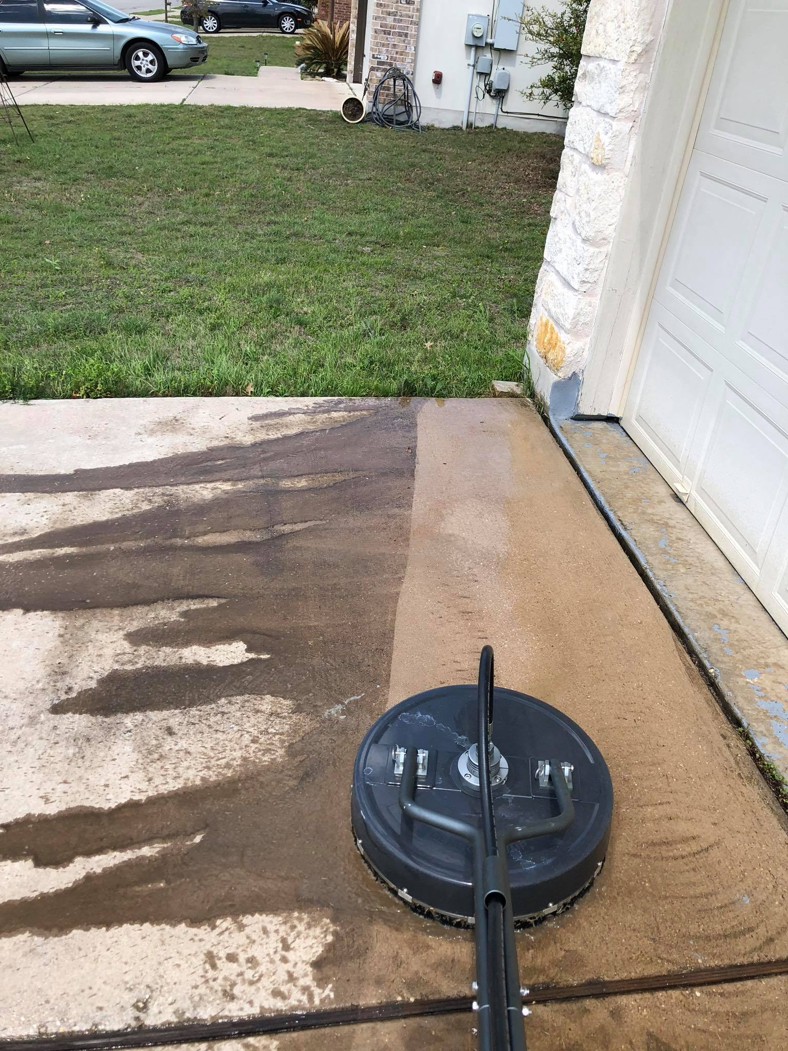 pressure washing professional residential