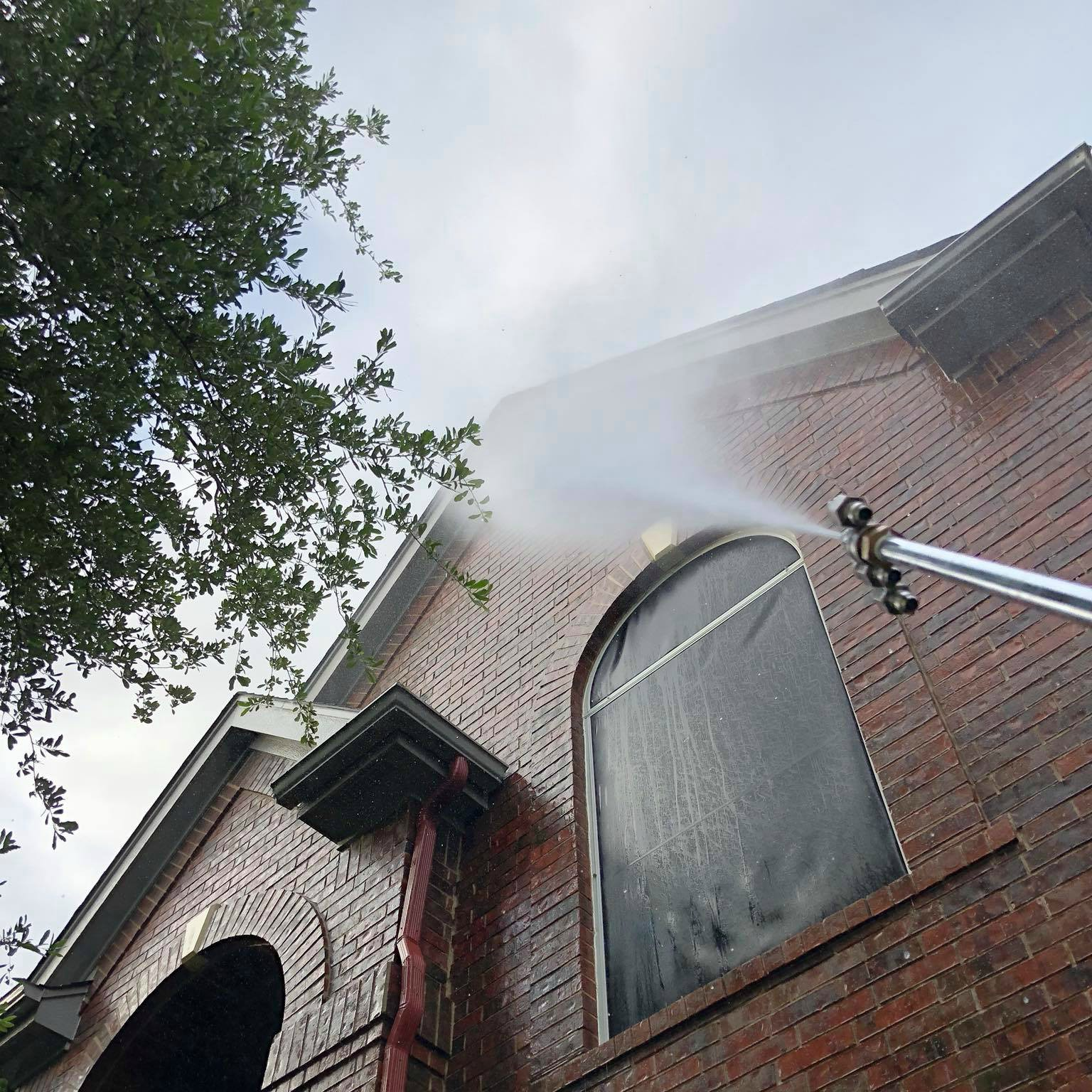 professional power washing service