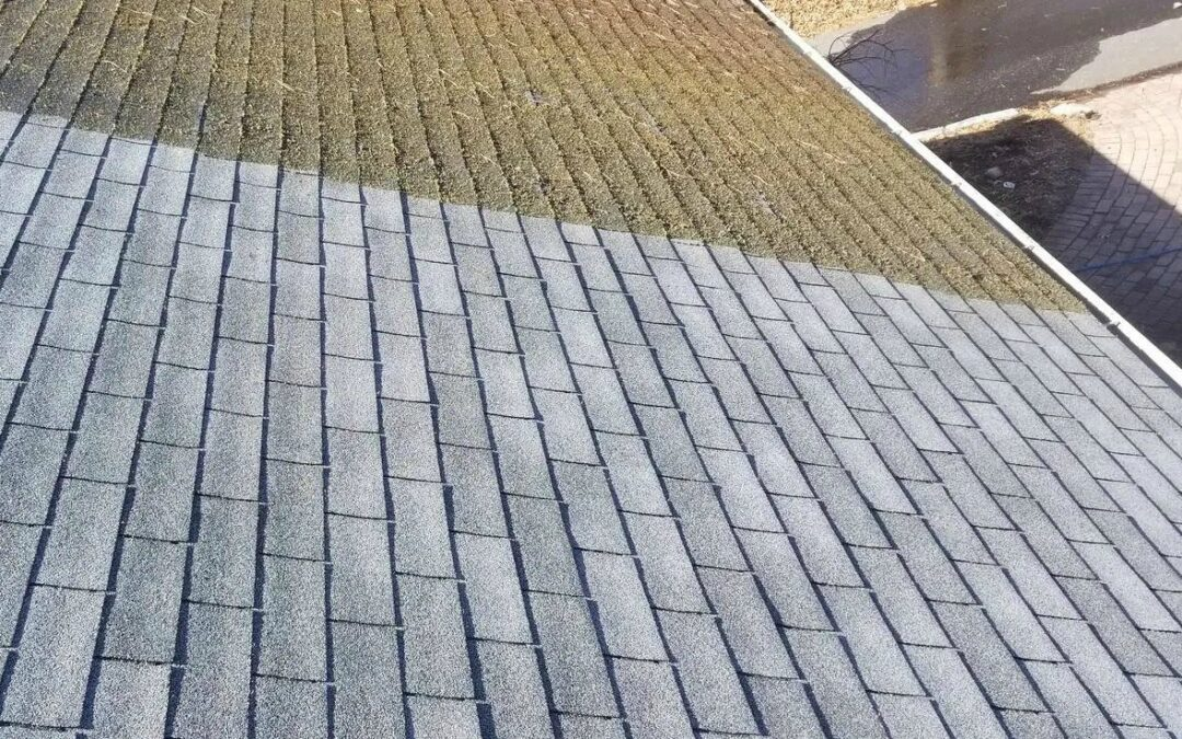 Why should you never pressure wash your roof?