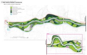 Illustrative plan of Buffalo Bayou Park