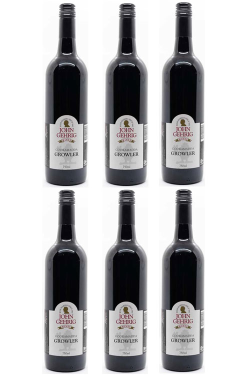 Growler Red Wine 6 Pack