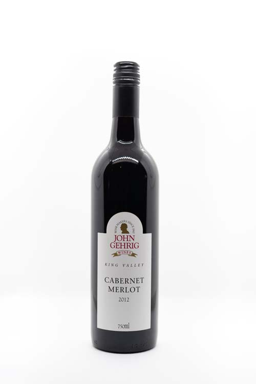 Red Wine 2012 Cabernet Merlot 750ml Bottle