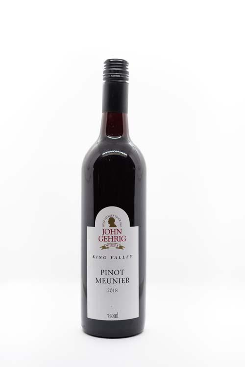 Red Wine 2018 Pinot Meunier 750ml Bottle