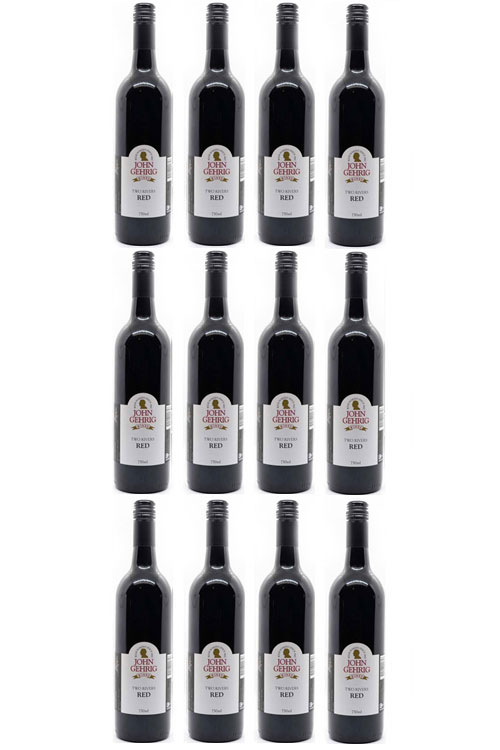 Two Rivers Red Wine 12 Bottle Pack