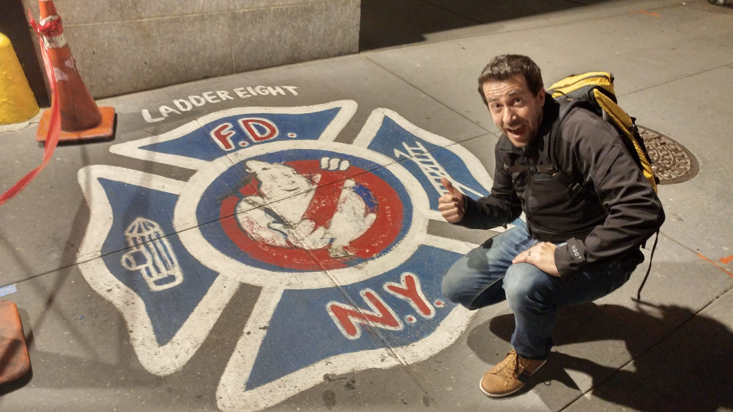 Ghostbusters Fire Hall