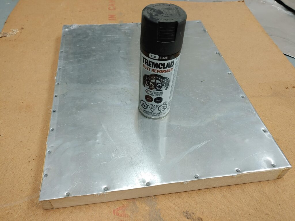 Fume Board Painted
