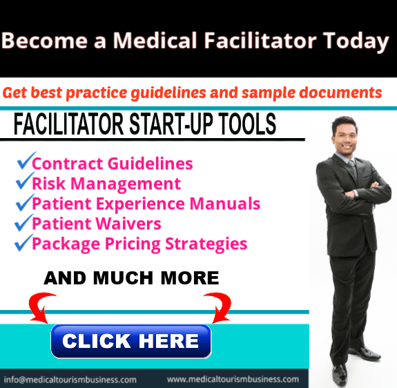 Medical Tourism Facilitator Startup Tools Ad