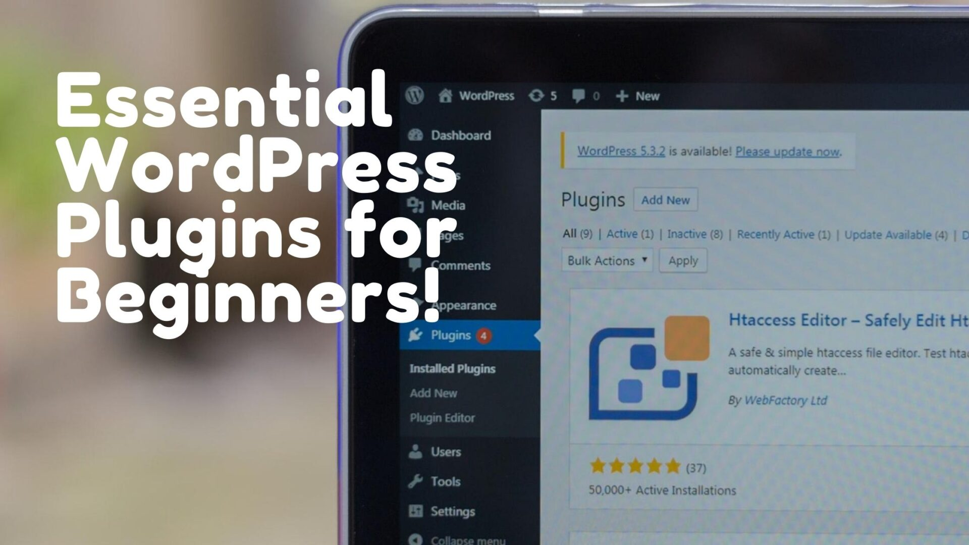 Essential WordPress Plugins for Beginners!