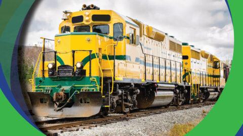 Railway Interchange | Yellow Train