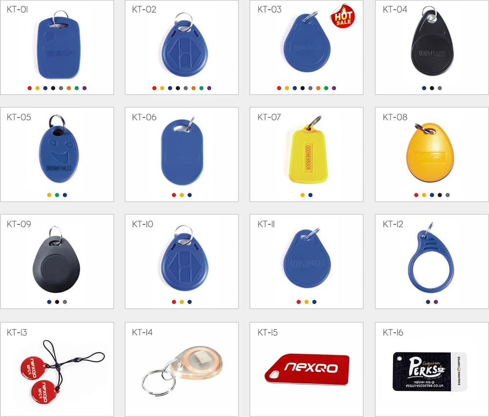 all types of RFID key fob