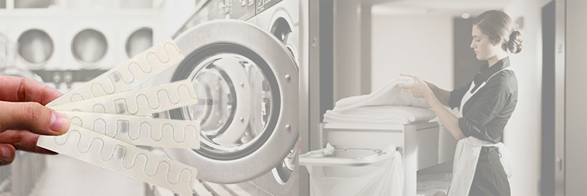 rfid textile laundry tags used in laundries