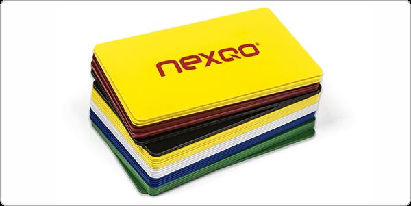 application of PETG -- plastic card