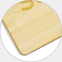 bamboo wooden card