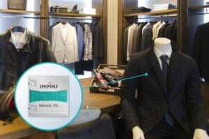 impinj monza chips used in apparel