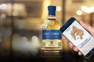kilchoman using nfc for identify the authenticity of their whisky