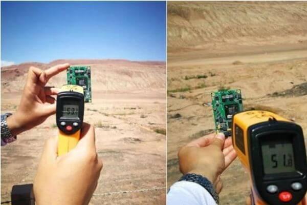 testing rfid vehicle lisence plate in turupan