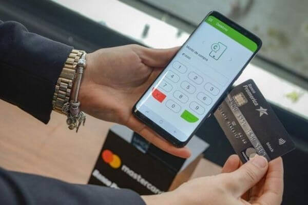 bank card with nfc chip