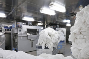 rfid used in hotel laundry