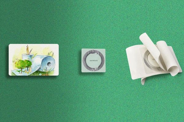eco rfid paper card