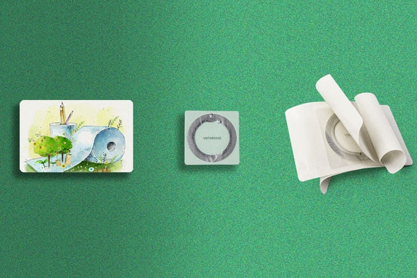 eco rfid paper card