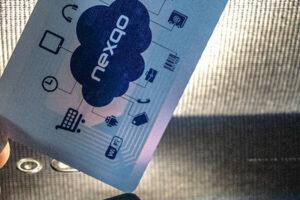 RFID antenna for HF card