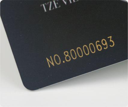 Laser Engraving Number