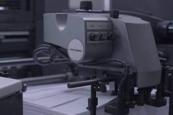 heidelberg 5-color printing machine